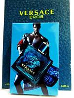 Мужские мини-духи в чехле Versace Eros Man 20 мл