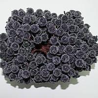 Калина сахарная чёрная, соцветие из 40 ягод, диаметр ягоды 12мм, длина проволоки 12см