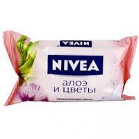 Nivea крем мыло алое и цветы 90 гр
