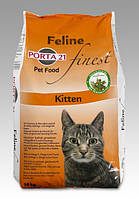 Porta 21 (Порта 21) Feline Finest Kitten (10 кг) сухой корм для котят, беременных и кормящих кошек