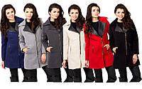 Полупальто женское молодежное 6 цветов,зимние женское пальто