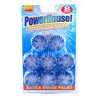 Блоки для бочка унитаза  Power House, синий