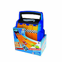 Hot Wheels Racing Battle Case Парковка- трек Хот Вилс 2 в 1