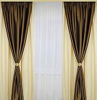 Готовые шторы классические для гостинной,спальни