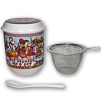 Заварник керамічний, чашка оптом, кружка керамічна сувенірна, керамічна чашка оптом