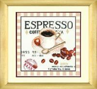 """Схема для вышивки бисером СБ-260 Кофе """"Еспрессо"""""""