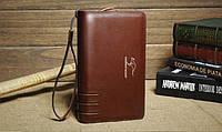 Стильный клатч KANGAROO KINGDOM. Недорогое кожаное портмоне. Практичный клатч. Код:КС30