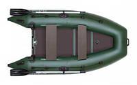 Надувная моторная килевая лодка Колибри КМ-300DL серии Лайт