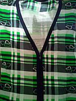 Трикотажный женский халат