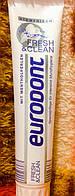 Немецкая зубная паста интенсивное очищение Eurodont fresh&clean 125 ml.
