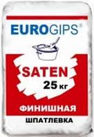 Шпаклёвка финишная гипсовая Euro Satengips 25кг