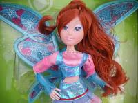 Кукла WINX 822 с крылышками 3 вида