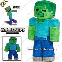 """Плюшевая игрушка Зомби из Minecraft - """"Zombie Toy"""" - 32 см."""
