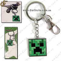 """Брелок для ключей Minecraft - """"Creeper Head"""""""