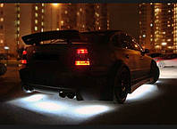 Подсветка днища автомобиля на пульте.