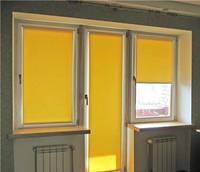 Ролета тканевая/Рулонная штора на балконную дверь Gardinia 68/215