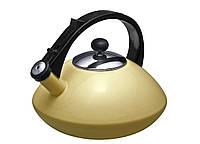 Эмалированный чайник со свистком Granchio Cosmico Solare 88604
