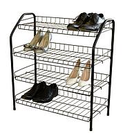 Современная  этажерка для обуви эт1 от популярного бренда ника в стиле хай-тек – разборная и вместительная