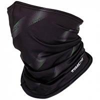 Утеплитель шеи мото RS-Taichi Cool Ride черный/зелёный