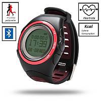 Профессиональные часы пульсометр L7 (шагомер, Kcal, будильник, секундомер, Bluetooth, вибровызов входящих)