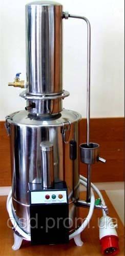 Аквадистиллятор Электрический из нержавеющей стали (10 литров) ДЭ-10  Дания