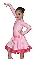 Рейтинговое платье бейсик с рукавом