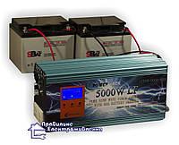 Інвертор напруги (ДБЖ) Power Jack 5000W-80A