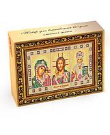 Набор для вышивания бисером домашний иконостас Спаси и сохрани