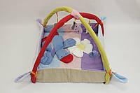 """Игровой коврик-манеж для новорожденных """"Уточка""""."""