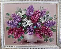 Сирень. Картина маслом цветы., фото 1