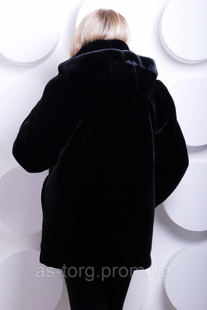 Шубка черный мутон из искусственного меха, черная шуба ...: http://as-torg.com.ua/p65598296-shubka-chernyj-muton.html