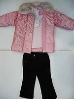 Комплект Rosie для девочек: курточка, реглан, брюки