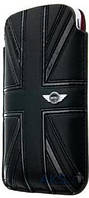 Чехол CG Mobile Mini Leather Sleeve Case Union Jack Black for iPhone 4/4S (MNPUIPUJBL)