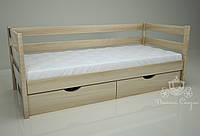 """Кровать одноярусная  """"Классик"""" Natural. Ясень."""