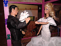 Одежда для кукол типа Барби, Свадебное №1