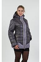 Куртка зимняя женская темно лиловая-сирень, размеры 46-60, Цвета разные