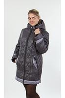 Куртка зимняя женская темно-лиловая, размеры 52, 60, Цвета разные