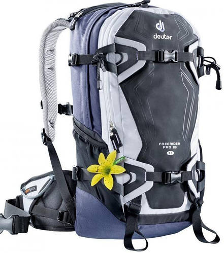 Женский качественный рюкзак на 28 л. ACT FREERIDER PRO 28 SL, 33520 1020 синий