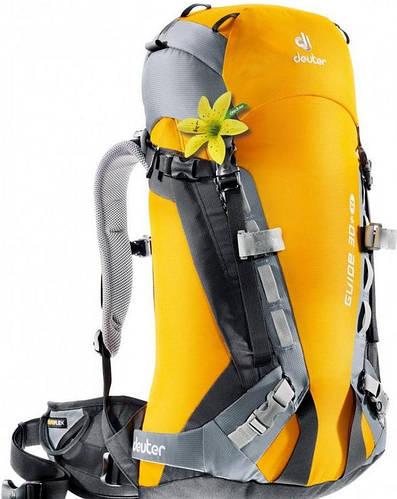 Женский надёжный рюкзак на 30 л. ACT DEUTER GLIDE 30+ SL, 33563 8430 желтый