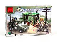 Конструктор 809 BRICK Военная база