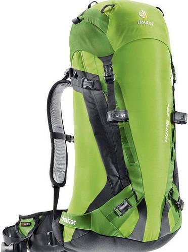 Туристический качественный рюкзак на DEUTER GLIDE 35+, 33573 2206 зеленый