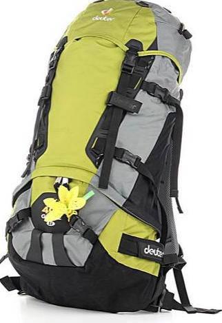 Женский хайкинговый, надёжный  рюкзак на 40 л. ACT DEUTER GLIDE 40+ SL, 33589 2160 салатовый