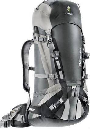 Женский качественный, удобный рюкзак на 45 л. ACT DEUTER GLIDE 45+ SL, 33593 4700 черный