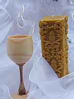 Свадебные свечи из пчелиного воска