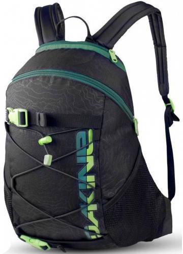 Мужской городской рюкзак Dakine Wonder 15L Hood 610934821864 черный