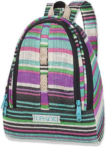 Женский городской рюкзак в полоску Dakine Cosmo 6.5 Avery 610934829372 фиолетовый