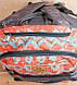 Мужской городской скейтборд-рюкзак с принтом Dakine Atlas 25L Indio 610934865479 оранжевый, фото 3