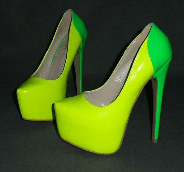Туфли салатовые фото