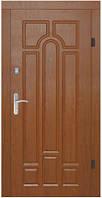 Двери входные с МДФ накладками (варианты изготовления)