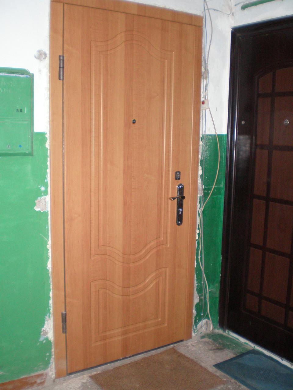 металлическая дверь двустворчатая в дмитрове